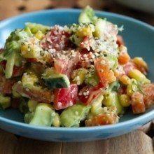 Speedy hemp Summer Salad recipe