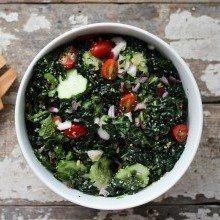 hemp infused salad