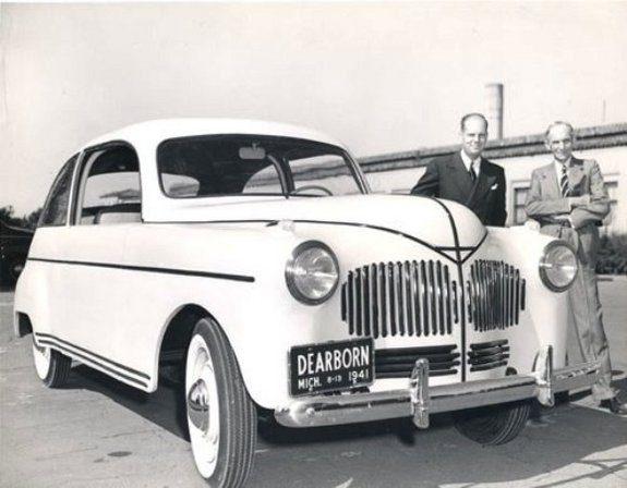 henry ford built hemp car in 1941