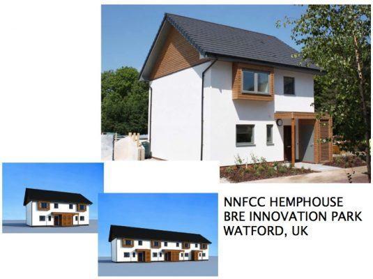 International Hemp Building Association's project in UK