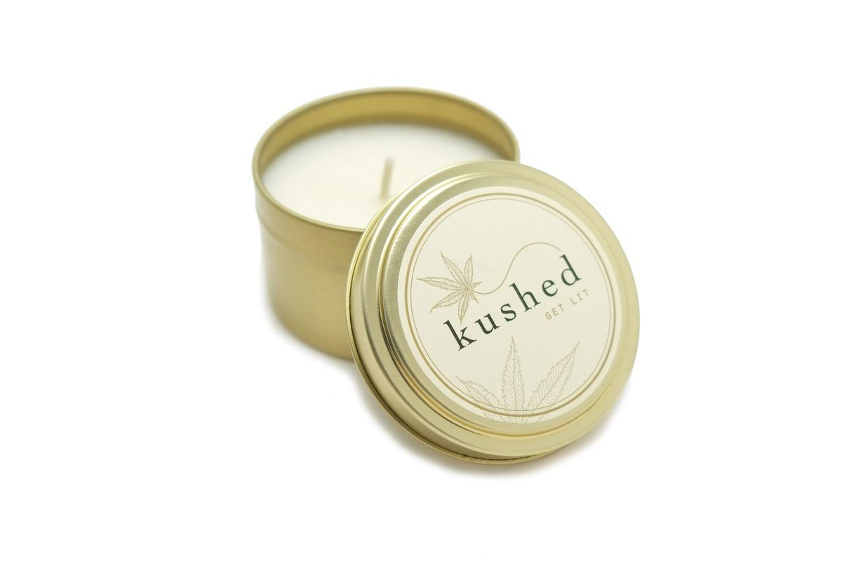 Shop for Kushed Hemp Candles Small at the Hemp Market