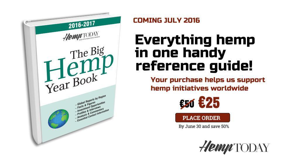 The Big Hemp Year Book by Hemp Today