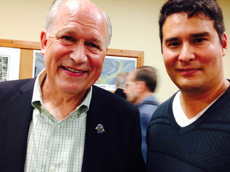 Jack Bennett with Alaska Governor Bill Walker