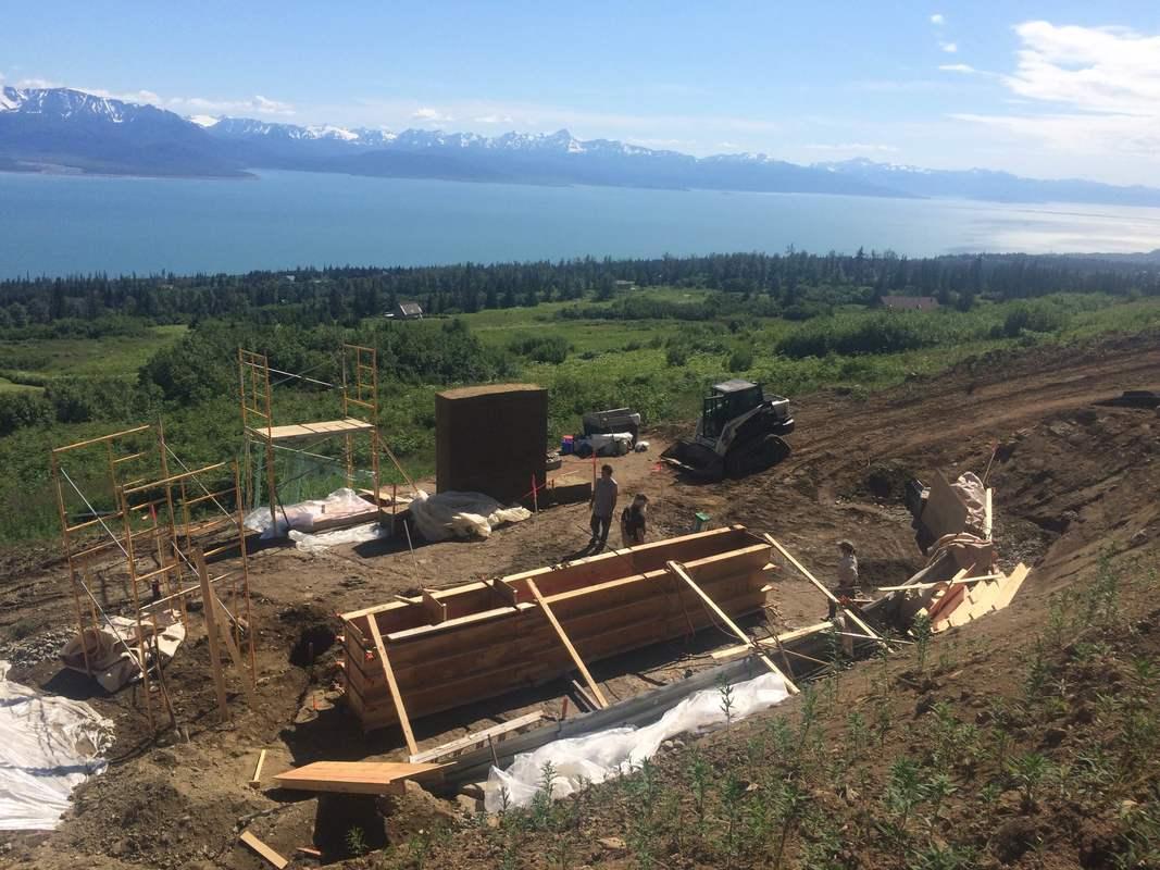 Construction of hemp home in Alaska