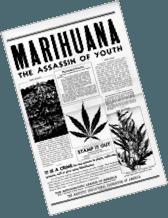 false propaganda against cannabis
