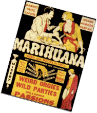cannabis was portrayed as a dangerous drug in the 1930s