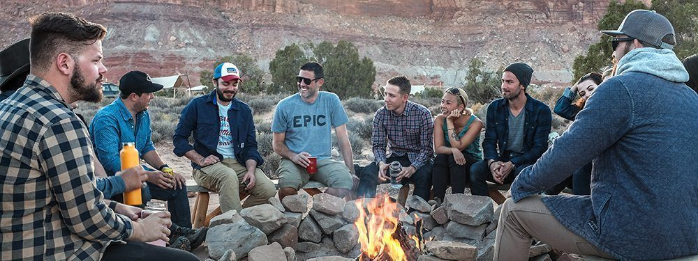 Hanging out with friends and smiling can help improve your anxiety