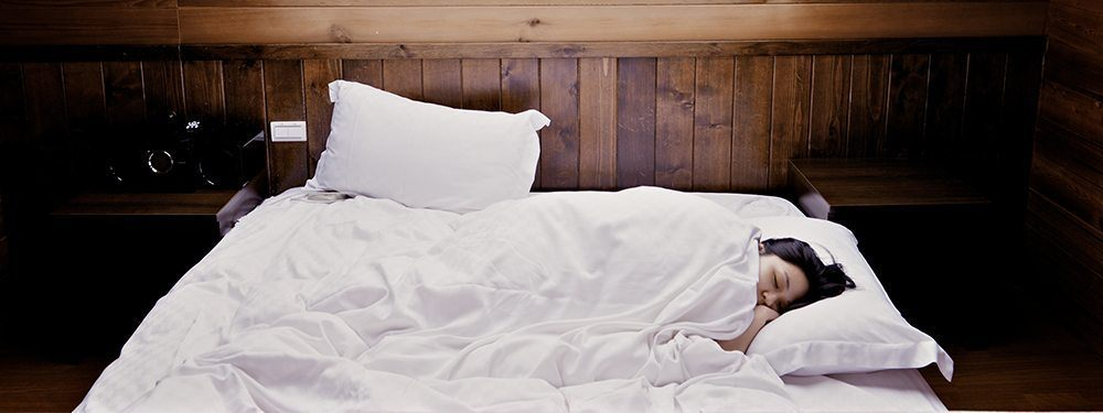 Getting a good night sleep is a great way to beat daily anxiety