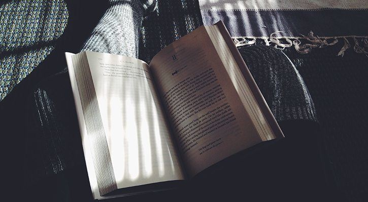 Reading each morning is a great way to beat anxiety