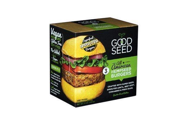 hemp seed burger