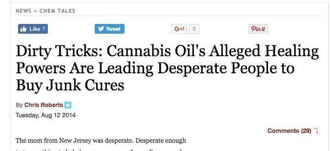 cannabis quality is a concern