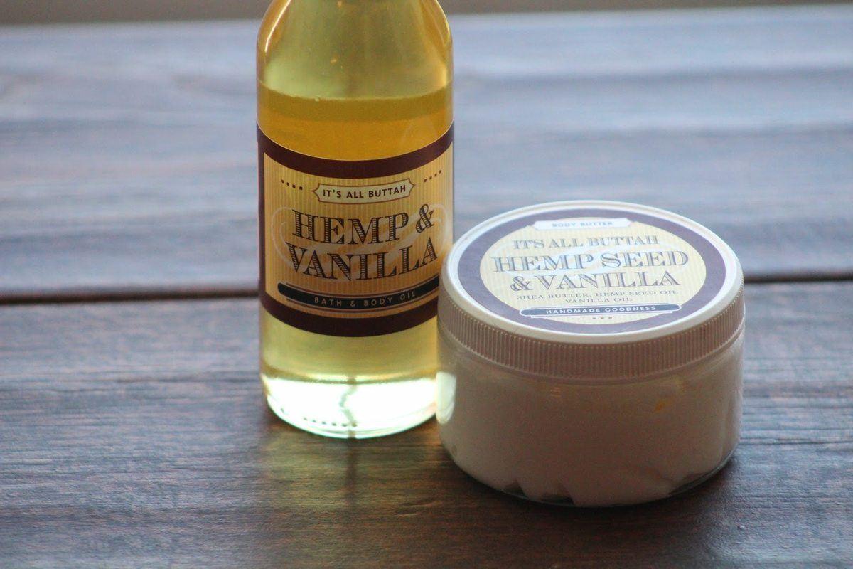 Buttah Hemp oil and butter 1