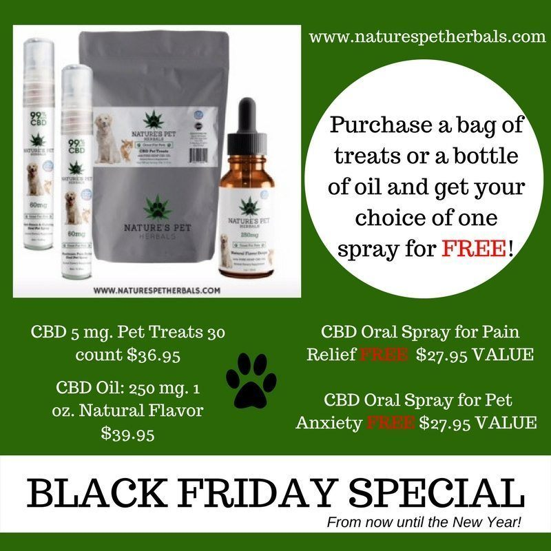 Natures Pet BLACK FRIDAY SPECIAL