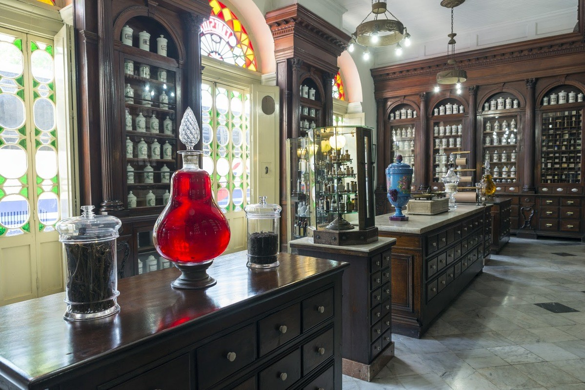 historic pharmacy in Cuba