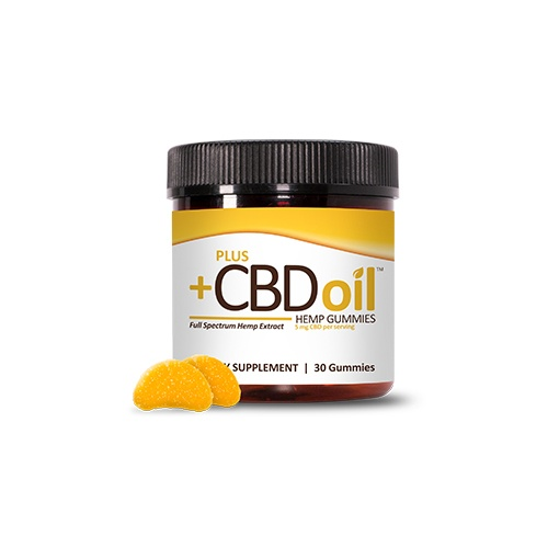 PlusCBD Oil Gummies Citrus Punch