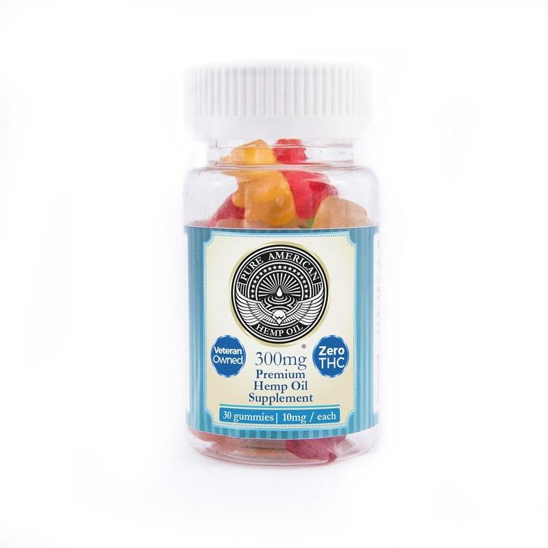 Pure American Hemp Oil CBD Gummies