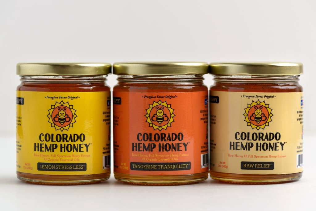 CBD honey from Colorado Hemp Honey is available in both unflavored and flavored varieties.