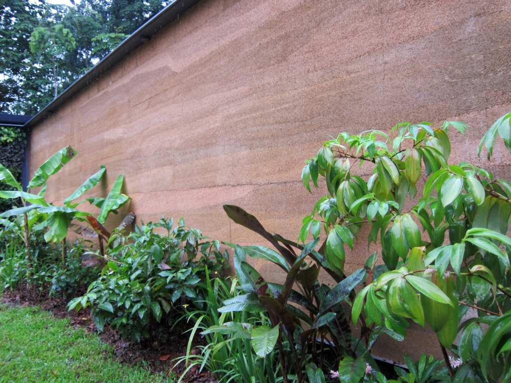 healthy homes can be made from hempcrete like this experimental building in Singapore