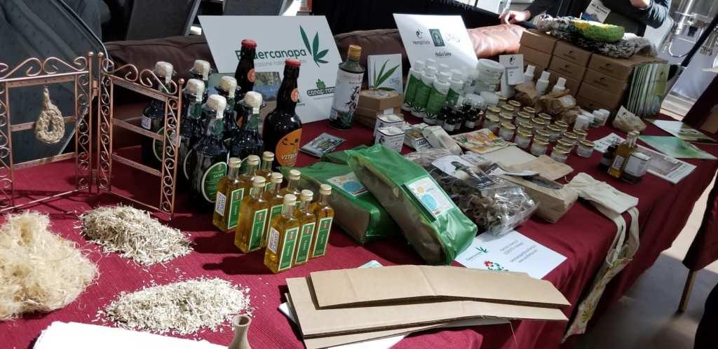 The Noco Hemp Expo featured hemp goods from around the world.