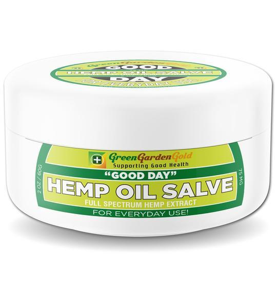 Green Garden Gold CBD Salve