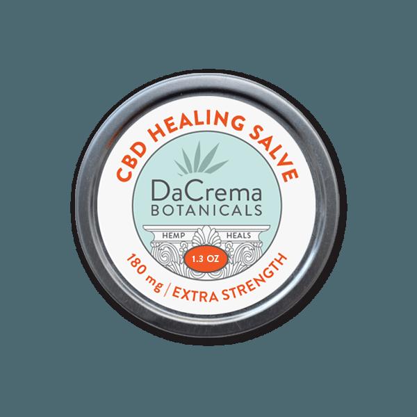 dacrema botanicals cbd healing salve 180mg extra strength