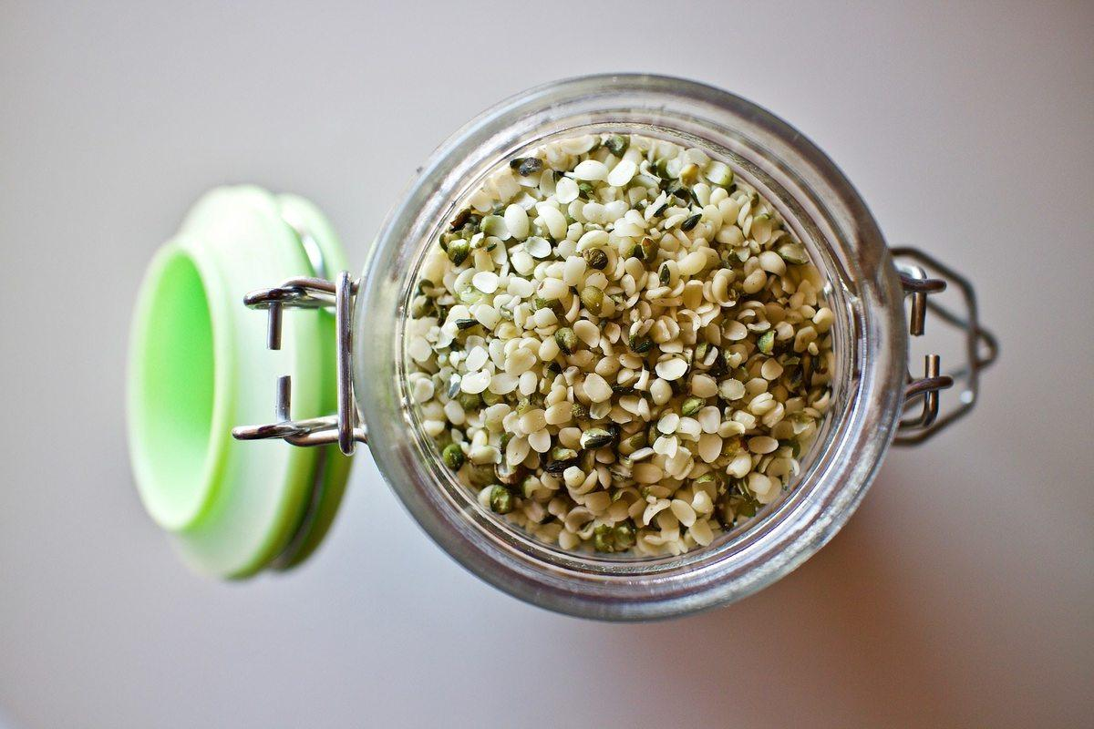 Hulled hemp seeds, or hemp hearts, are a popular form of hemp seeds.