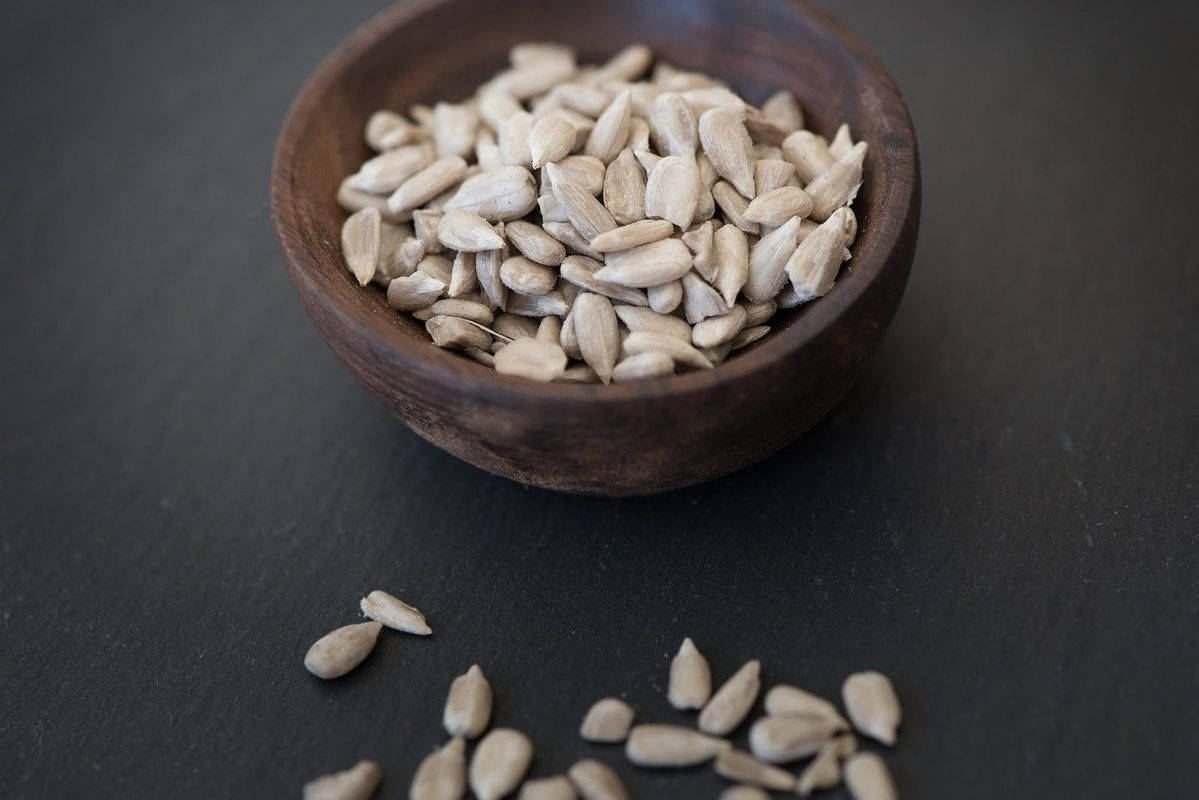 The magnesium found in sunflower seeds can promote better moods, while other nutrients keep your heart healthy.