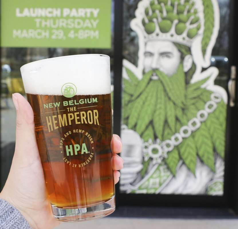 Over the past few months, New Belgium has traveled the USA sharing their new hemp beer, The Hemperor.