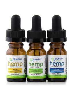 Cannabis Hemp Oil Bluebird Botanicals Hemp Signature Blend