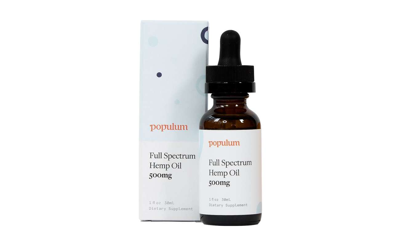 Populum, one of the best CBD oil tinctures online