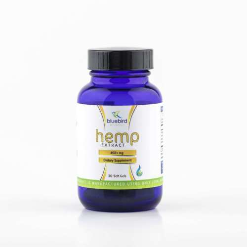 Bluebird Hemp Softgels