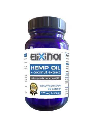 Elixinol CBD Hemp Oil Capsules (Ministry of Hemp Top CBD Capsules)