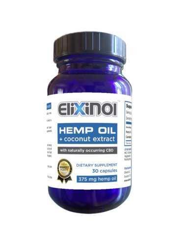 Elixinol Capsule 30 ct
