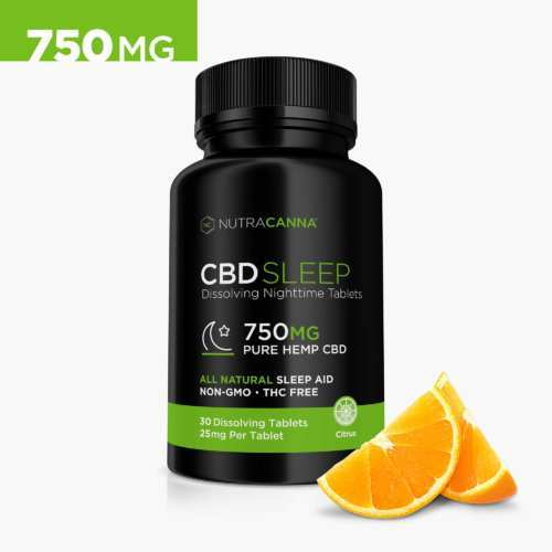 NutraCanna CBD Tablets