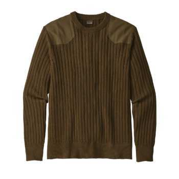 "Patagonia's hemp ""Fog Cutter"" sweater is perfect for chilly fall days, an example of a durable but comfortable and fashionable hemp fabric."