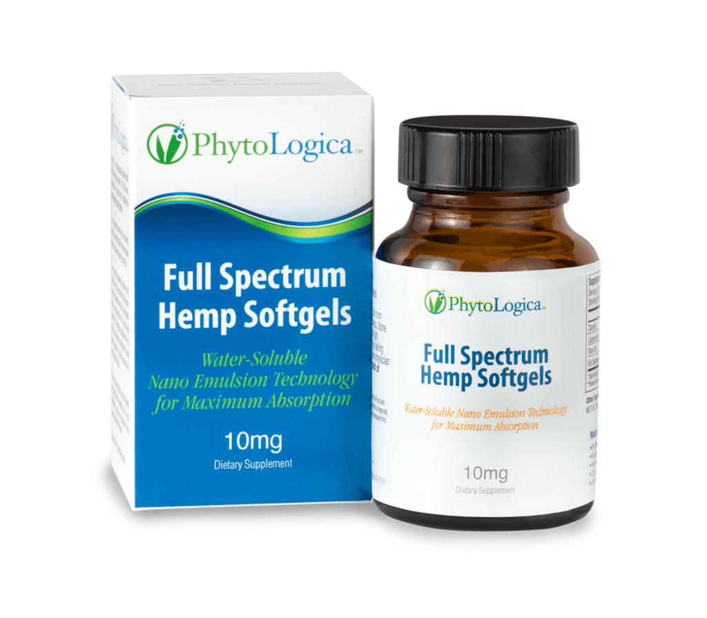 PhytoLogica Full Spectrum Hemp Softgels (Ministry of Hemp Top CBD Capsules)