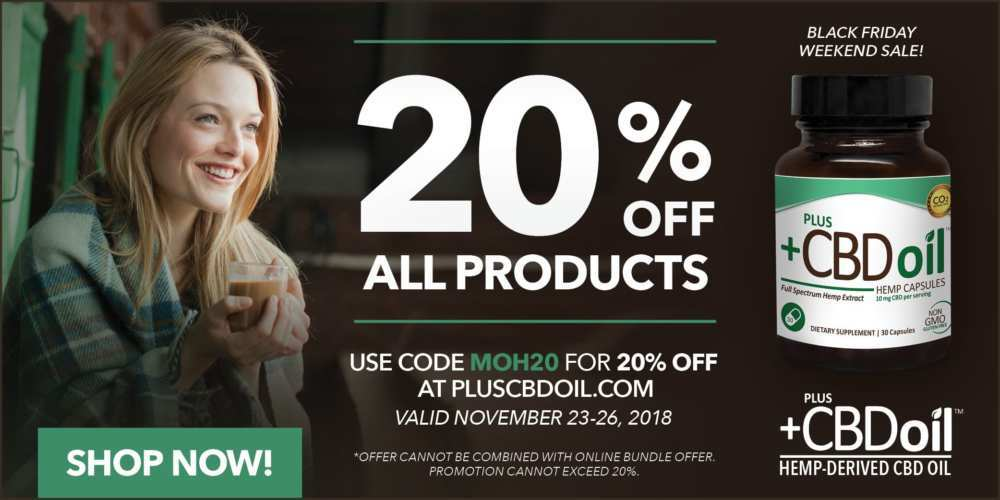 PlusCBD Oil (Ministry of Hemp Black Friday CBD Deals 2018)