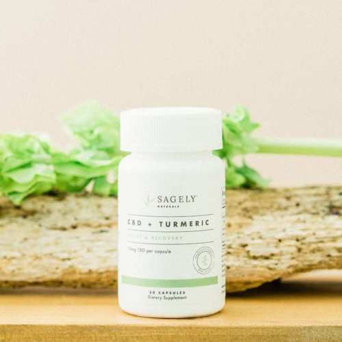 Sagely Recovery CBD Capsules