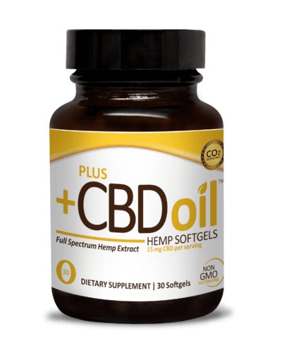 Plus CBD Oil Capsules