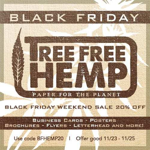 Tree Free Hemp (Ministry of Hemp Black Friday Hemp Deals)