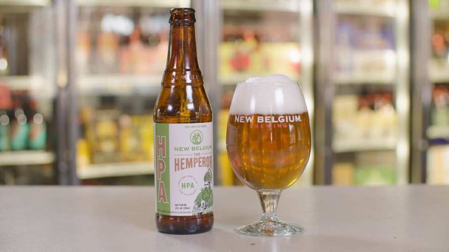 New Belgium's The Hemperor hemp craft beer