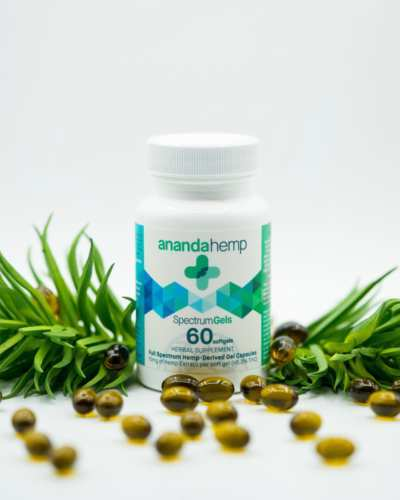 Ananda Hemp Spectrum Gels (Ministry of Hemp Top CBD Capsules)