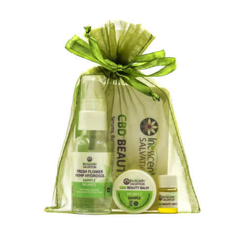 Inesscents Salvation CBD Beauty Gift Bag (Ministry of Hemp 2018 Holiday Hemp & CBD Gift Guide)