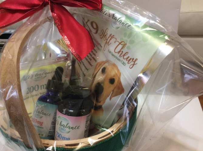 Life's Balance CBD Holiday Gift Basket (Ministry of Hemp 2018 Holiday Hemp & CBD Gift Guide)