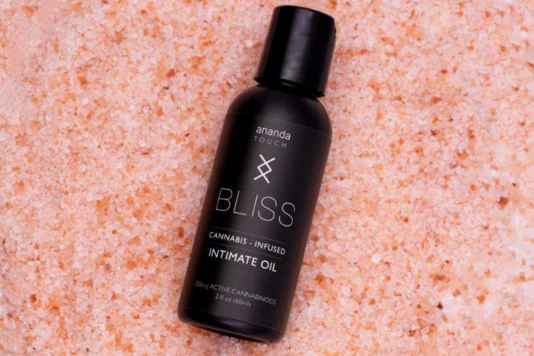 Ananda Touch Bliss Oil (Ministry of Hemp Valentine's CBD Gift Guide)