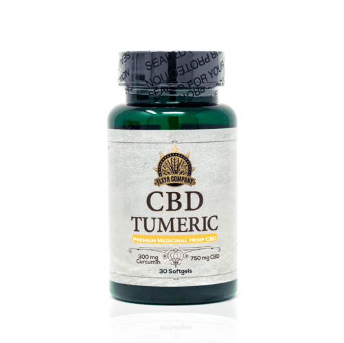 Elxyr CBD Softgels with Turmeric (Ministry of Hemp Official CBD Review)