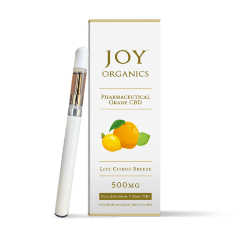 Joy Organics CBD Vape Pen (Ministry Of Hemp Official CBD Review)