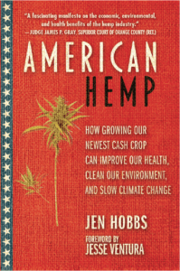 "Book cover of ""American Hemp"" by Jen Hobbs"