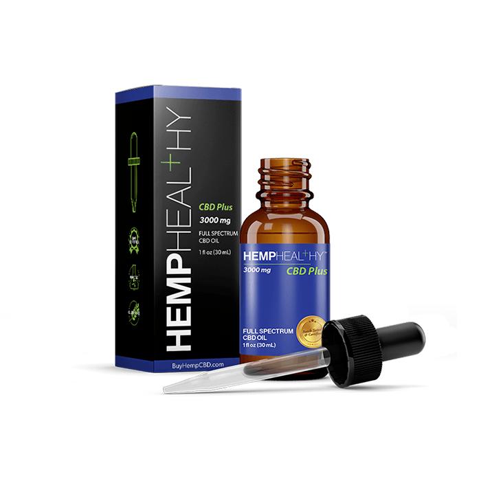 Hemp Healthy Brand Tincture