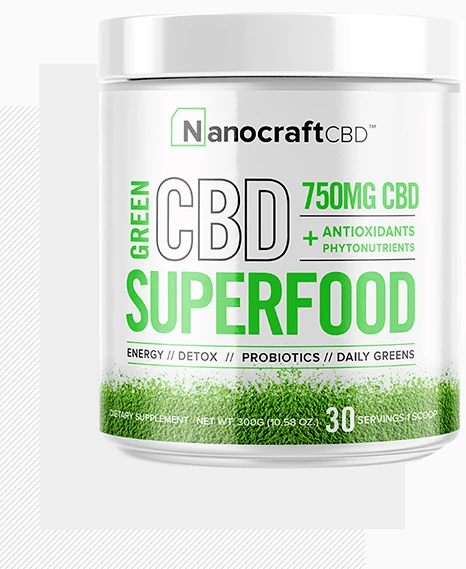 CBD superfood supplement